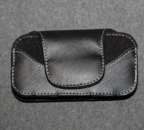 UK customs / border guard, belt holster, black, velcro.