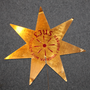Christmas tree topper / star, 1930-40´s original Sporrong