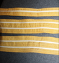 DDR / East German navy, rank titles for cuffs.