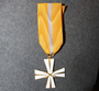 Finnish cavalry cross of merit, 925 silver.