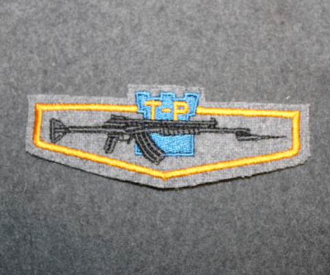 Soldiers basic training graduation patch, Finnish Army