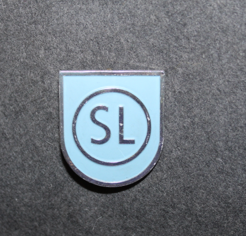 Ab Storstockholms Lokaltrafik, SL Cap badge, shield type
