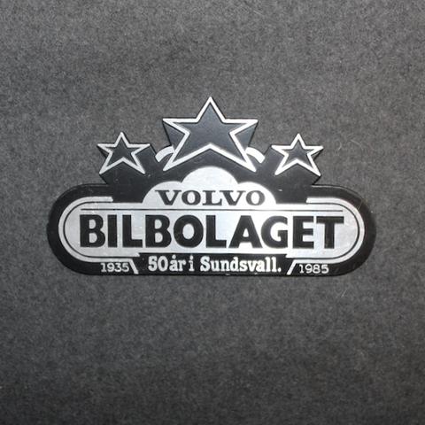 Volvo Bilbolaget, 1935-1985, 50 år i Sundsvall.