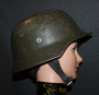 Finnish Army steel helmet WW2 model M40-55 (german )