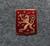 Suomen Leijona, 13x16mm, vanhaa tyyliä.