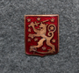 Finnish Lion, 13x16mm, old style.