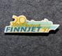 GTS Finnjet, 20 vuotispinssi, 1977-1997.