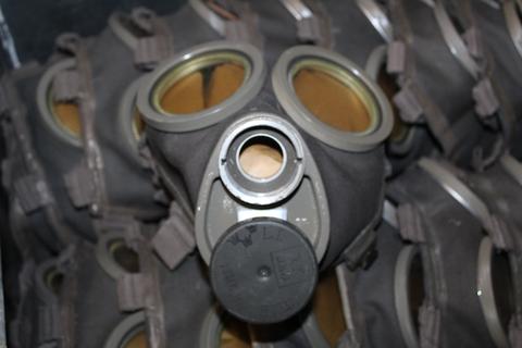 Kaasunaamari M/36, käyttämätön, virheetön.