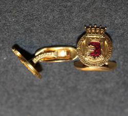 Södra Skåningarnas Kamratförening. Kalvosinnappi