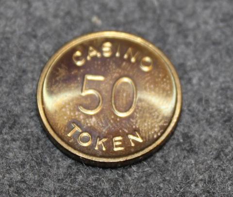 Casino 50 Token, Ab Restaurangrouletter, Solna