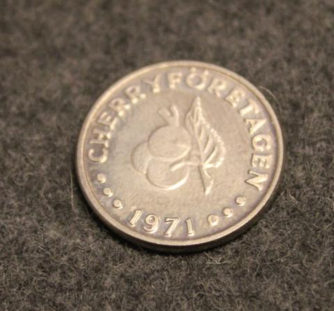 Cherry Företagen 1971, Ab Restaurangrouletter, 20,3mm