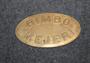Rimbo Mejeri, 1800-luku, 75x44mm