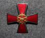 Finnish army ordnance school, regimental badge.