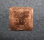 RLMK 1935,  Finnish navy, school badge base plate.