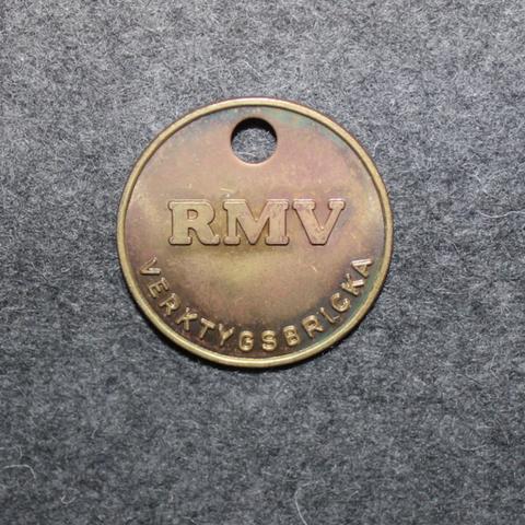 RMV Ramlösabrunns Mekaniska Verkstad AB, verktygsbricka. Tool deposit.
