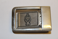 Belt Buckle with Crown and eagle logo