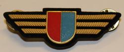 Chest badge ( Brustflügel ) Swiss Police. Tessin