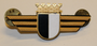 Chest badge ( Brustflügel ) Swiss Police. Burgdorf