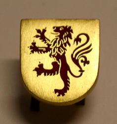 Cap badge Swiss Police. Laufenburg