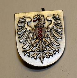 Cap badge Swiss Police. Neuchâtel LAST IN STOCK