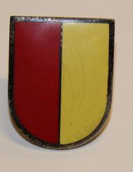 Cap badge Swiss Police. Aubonne