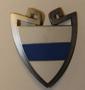 Kypärämerkki, sveitsin poliisi. Zug