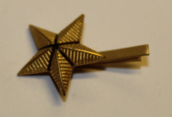 Swiss Rank insignia. Star 18mm. Type 2