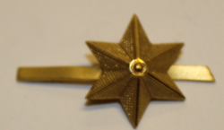 Swiss Rank insignia. Star 18mm. Type 3