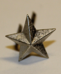 Swiss Rank insignia. Star 13mm. Type 2