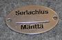 Serlachius Mänttä kilpi.