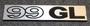 Saab 99GL emblem