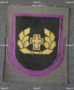 Finnish sleeve patch, chaplain