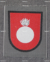 Finnish sleeve patch, artillery gunners