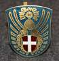 Danish civil defence ( civilforsvar ) cap badge / pin