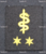 Finnish navy rank patch, MCS 2rd class, medical specialist