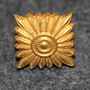 Danish rank insignia ( gradstegn ), square 17,5mm LAST IN STOCK