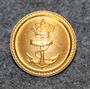 Tanskan kuninkaallinen laivasto, kullattu, 18mm
