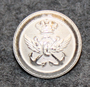 Tanskan merenkulkulaitos, hopean värinen, 14mm