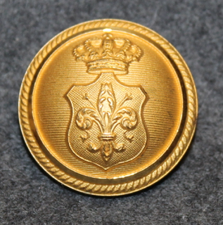 Odense, palokunta, kullattu, 26mm
