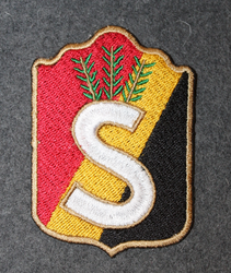 Finnish home guard shoulder sleeve patch: Kainuu 1940->