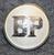 BP, British Petroleum, öljy yhtiö, hopean värinen, 14mm
