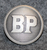 BP, British Petroleum, öljy yhtiö, harmaa, 14mm
