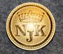 Nyländska Jaktklubben, kullattu, 21mm