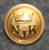 Nyländska Jaktklubben, kullattu, pursiseura, 15mm
