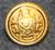 Suomen Etelä-Amerikan Linja, laivayhtiö, kullattu, 17mm