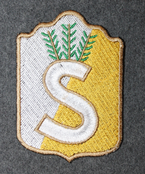 Finnish home guard shoulder sleeve patch: North Nyland