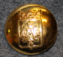 Åbo - Turku, city, coat of arms, 22mm, gilt.