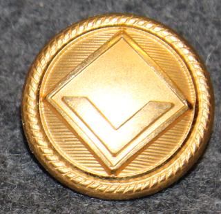 Viking Line, laivayhtiö, kullattu, 20mm
