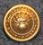 Vaudin kantonin santarmilaitos, 17mm, kullattu