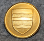 Morges, sveitsiläinen kunta, 21mm, kullattu